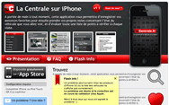 LaCentrale.fr's iPhone app support page